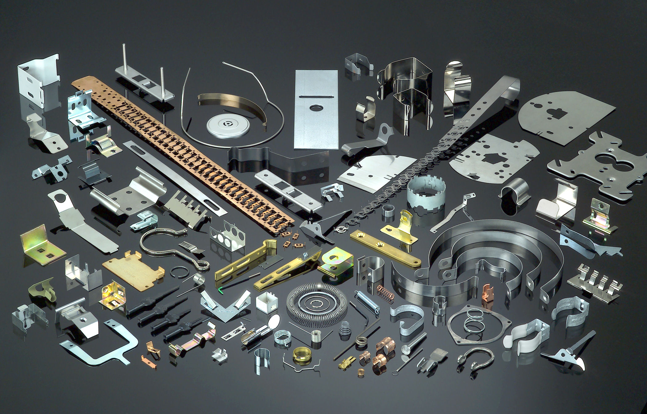 All parts Stamping, Clips, Springs, Assemblies