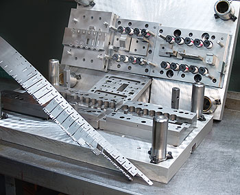 Progressive Die Stamping Tooling At Atlantic Precision Spring