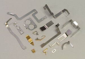 Flat Spring Contacts for Circuit Boards