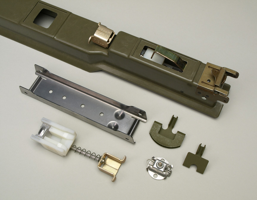 Metal stampings made for the military