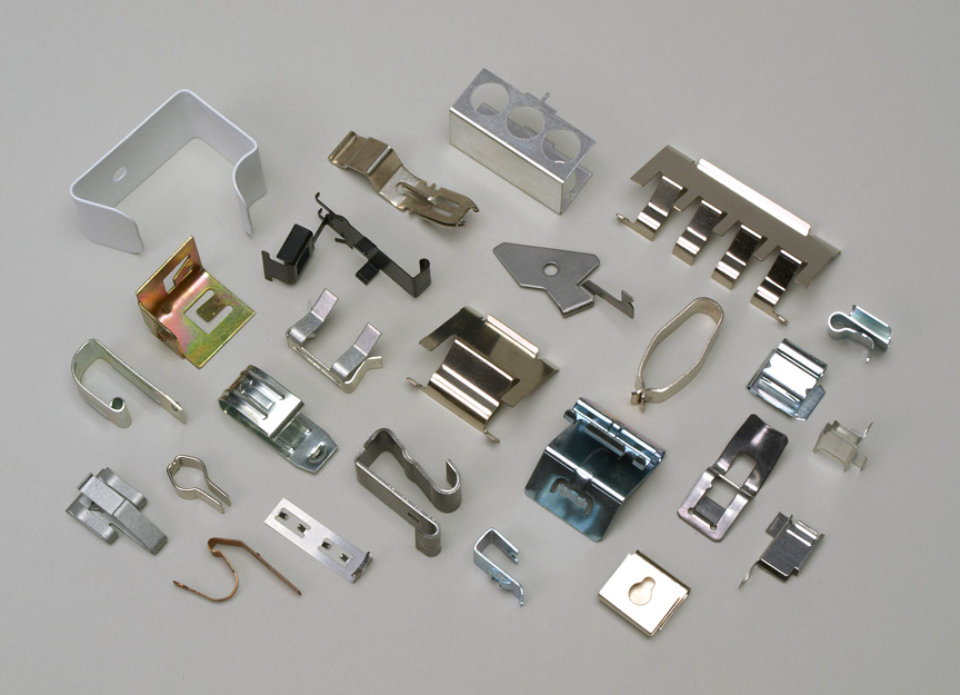 custom metal clips manufactured by atlantic precision spring