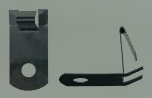 Sheet Metal Clip Part Manufactured by Atlantic Precision Spring